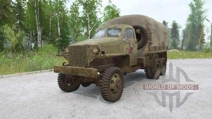 Studebaker US6 1943 для MudRunner
