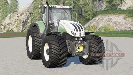 Steyr 6000 Terrus CVT〡Terra tires added для Farming Simulator 2017