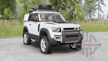 Land Rover Defender 90 D240 SE Adventure 2020 для Spin Tires