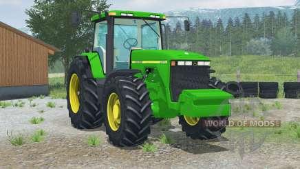John Deere 8400〡rear view camera для Farming Simulator 2013