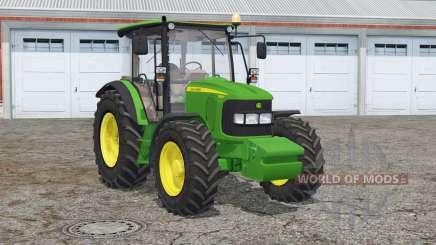 John Deere 5080R〡animated window для Farming Simulator 2015