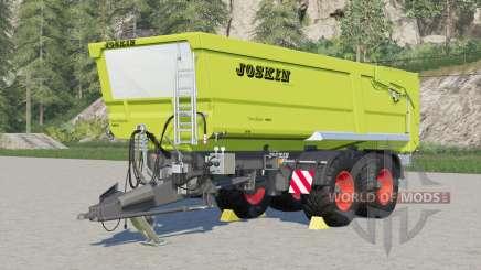 Joskin Trans-Cap 6500-22BC150 для Farming Simulator 2017