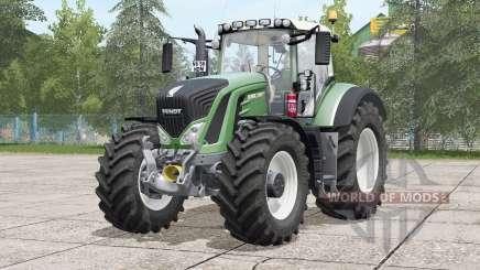 Fendt 900 Vario〡visual extras для Farming Simulator 2017