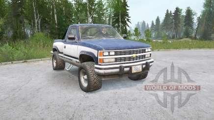 Chevrolet K1500 Regular Cab Sportside 1988〡свой груз для MudRunner