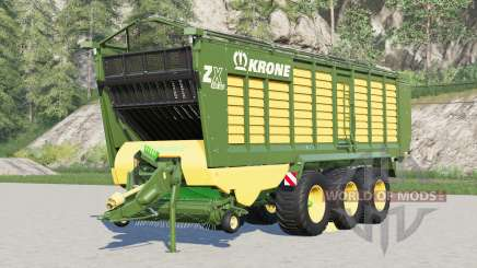 Krone ZX 560 GD〡capacity selection up to 200000l для Farming Simulator 2017