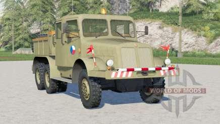 Tatra T141 1957〡pro tahání přívěsů для Farming Simulator 2017