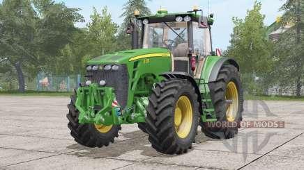 John Deere 8030 series〡sound update для Farming Simulator 2017