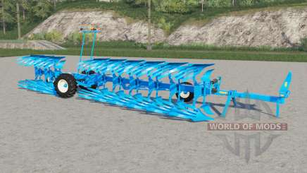 Lemken Titan 18〡work speed 25 km-h для Farming Simulator 2017