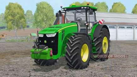 John Deere 8370R〡regulagem do volante для Farming Simulator 2015