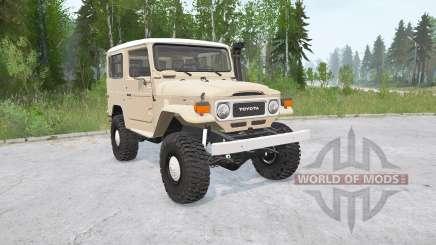 Toyota Land Cruiser Hard Top (FJ40) для MudRunner