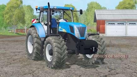 New Holland T7040〡new weight для Farming Simulator 2015