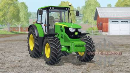 John Deere 6115M〡new light skin для Farming Simulator 2015
