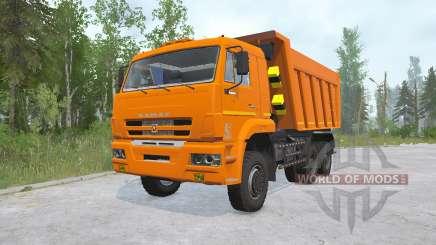 КамАЗ-6522-53 для MudRunner