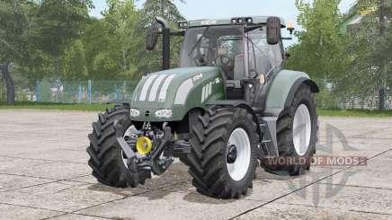 Steyr 6100 CVƬ для Farming Simulator 2017