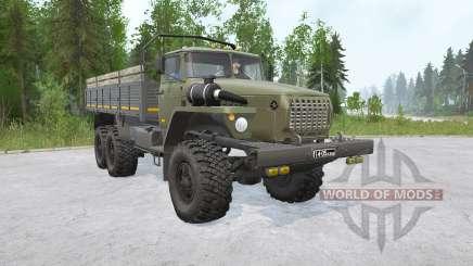 Урал-4320 6x6〡свои грузы для MudRunner