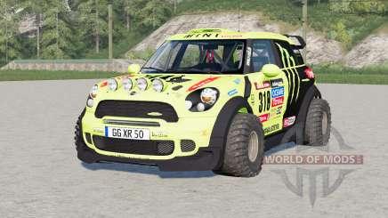 Mini John Cooper Works Countryman WRC Prototype (R60) 2010 для Farming Simulator 2017