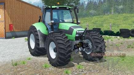 Deutz-Fahr Agrotron 150.7〡automatic reverse lights для Farming Simulator 2013