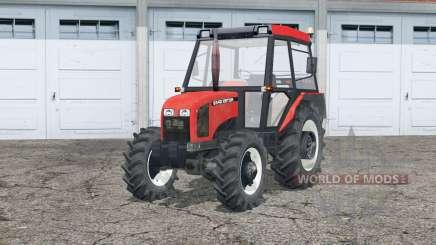 Zetor 5340〡dynamic exhausting system для Farming Simulator 2015