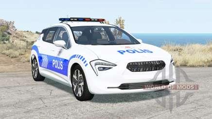 Cherrier FCV Turkish Police v1.3 для BeamNG Drive