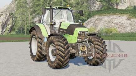 Deutz-Fahr Serie 7 TTV Agrotron〡wheels selection для Farming Simulator 2017