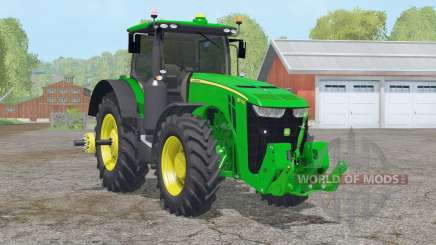 John Deere 8370R〡scheiben getont для Farming Simulator 2015