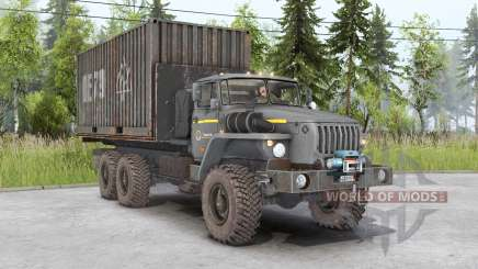 Урал-4320-1951-60 для Spin Tires
