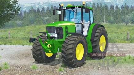 John Deere 7530 Premiuӎ для Farming Simulator 2013