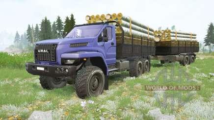 Ural Next〡own cargos для MudRunner
