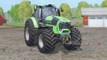 Deutz-Fahr 9340 TTV Agrotron〡new driving physics для Farming Simulator 2015