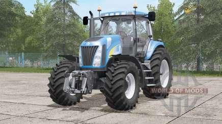 New Holland TG200 serieᵴ для Farming Simulator 2017
