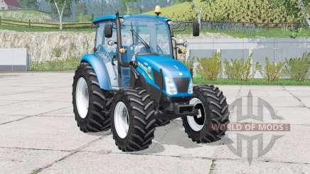 New Holland T4.75〡moveable attach для Farming Simulator 2015