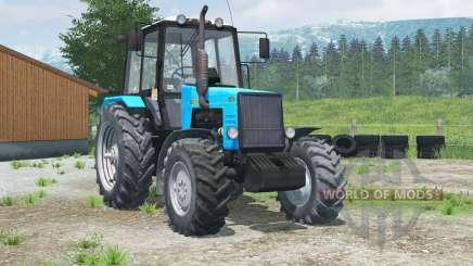 МТЗ-1221 Беларус〡с фронтальным погрузчиком для Farming Simulator 2013
