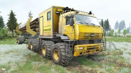 КамАЗ-6560 Полярник v1.2 для MudRunner