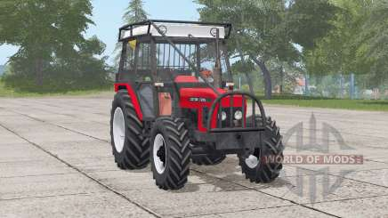 Zetor 7245〡выбор мощности для Farming Simulator 2017