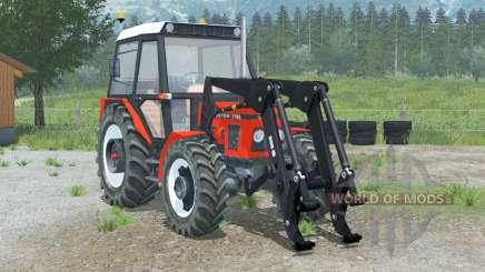 Zetor 7745〡front loader для Farming Simulator 2013