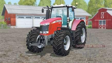 Massey Ferguson 7726〡mirrors reflect для Farming Simulator 2015