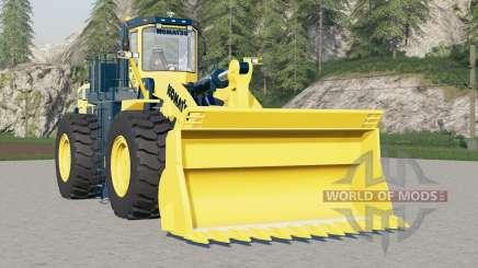 Komatsu WA900 для Farming Simulator 2017