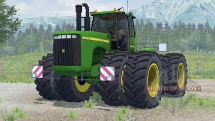 John Deere 9400〡added wheels для Farming Simulator 2013