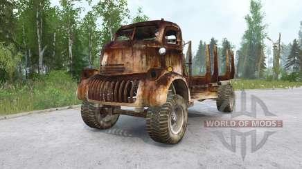 Chevrolet COE Timber Truck для MudRunner