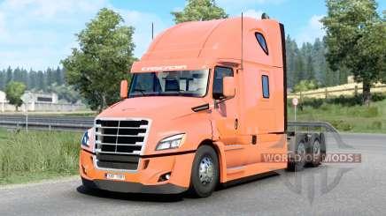 Freightliner Cascadia Raised Roof 2019 v1.18 для Euro Truck Simulator 2