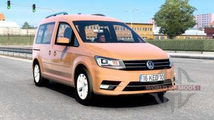 Volkswagen Caddy (Type 2K) 2016 v1.8 для Euro Truck Simulator 2