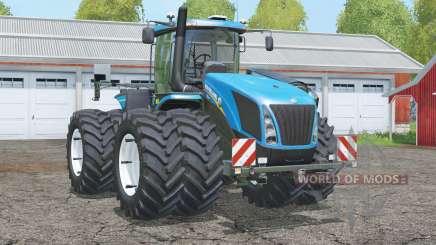 New Holland T9.565〡with dual wheels для Farming Simulator 2015
