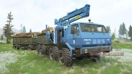 КрАЗ-7Э-6316 Сибирь〡свои грузы для MudRunner