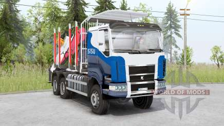 Sisu C600 Timber Truck v1.2 для Spin Tires