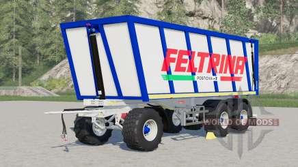 Feltrina trailer для Farming Simulator 2017