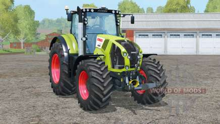 Claas Axion 870〡animated front axle для Farming Simulator 2015