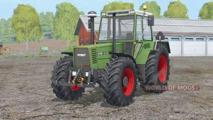 Fendt Favorit 615 LSA Turbomatik E〡visual changes для Farming Simulator 2015