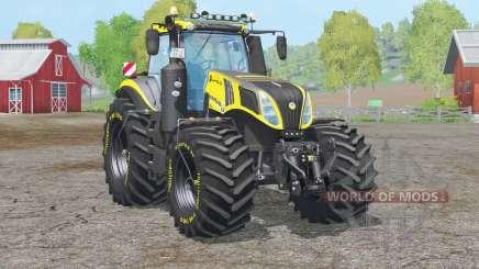 New Holland T8.420〡reifendruckregelanlage для Farming Simulator 2015