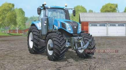 New Holland T8.435〡wheels tractor для Farming Simulator 2015