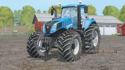 New Holland T8.320〡new wheels для Farming Simulator 2015